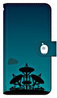 ひとりぼっち惑星手帳型スマホケースB