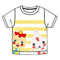 120キッズ)《黄色》Tシャツおとうさんといっしょ