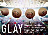 20th Anniversary Final GLAY in TOKYO DOME 2015 Miracle Music Hunt Forever ―STANDARD EDITION- DAY 1