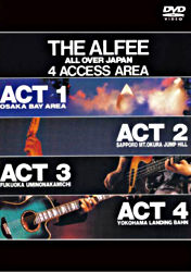 THE ALFEE ALL OVER JAPAN 4ACCESS AREA 1988