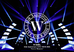 """w-inds.15th Anniversary LIVE TOUR 2016 """"Forever Memories"""" 初回限定盤 DVD+スペシャルブック"""