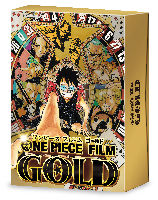 ONE PIECE FILM GOLD DVD GOLDEN LIMTED EDITION