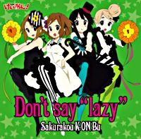 "Don't say ""lazy"" (初回限定盤)"