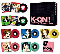 "K-ON! 7inch Vinyl ""Donuts"" BOX"