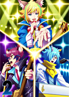TVアニメ「SHOW BY ROCK!!STARS!!」Blu-ray第2巻