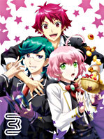 美男高校地球防衛部HAPPY KISS! 3【Blu-ray】