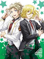 美男高校地球防衛部HAPPY KISS! 4【Blu-ray】