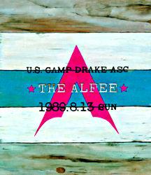 U.S.CAMP DRAKE ASC THE ALFEE 1989.8.13 SUN