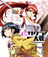 新サクラ大戦 the Animation 第2巻 Blu-ray通常版